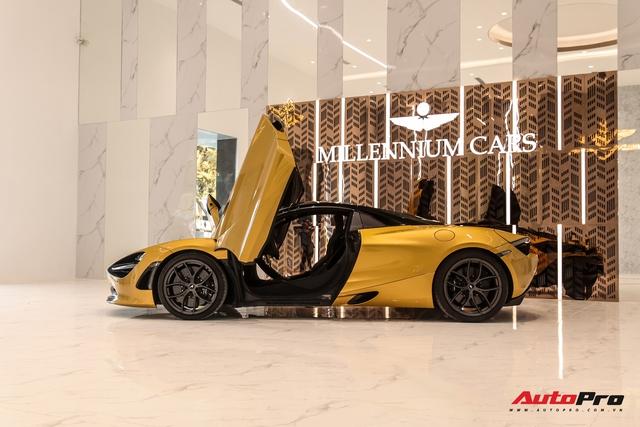 Diện kiến McLaren 720S Spider thứ 4 Việt Nam vừa về showroom khét tiếng sắp khai trương tại Sài Gòn: Một số chi tiết độc nhất vô nhị - Ảnh 13.