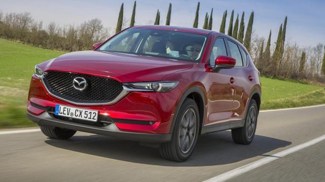 Mazda CX-5 đời mới sẽ có tên Mazda CX-50: Dẫn động cầu sau, đòi đấu cả Ford Explorer - Ảnh 1.