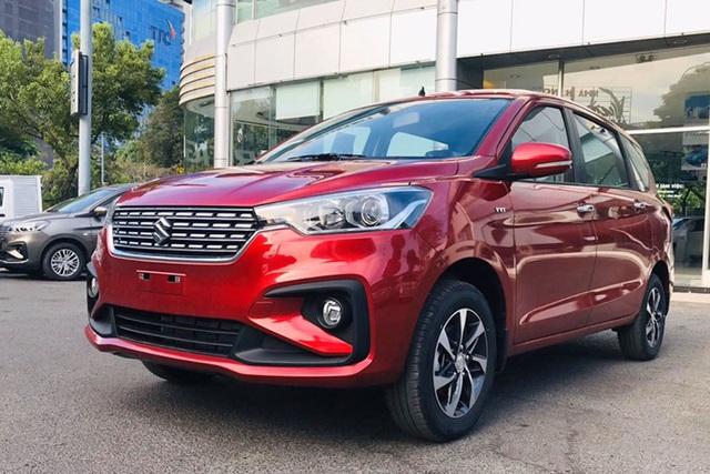 Thiếu xe mới nhưng thừa hàng tồn, Suzuki Ertiga giảm giá kỷ lục, rẻ hơn Mitsubishi Xpander cả trăm triệu đồng - Ảnh 4.