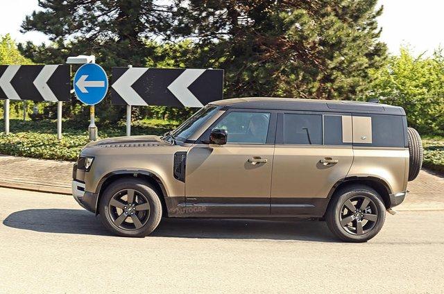 Land Rover Defender chuẩn bị được bổ sung động cơ V8 - Ôm mộng đấu Mercedes-AMG G63 - Ảnh 3.