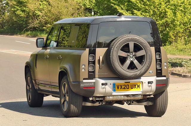 Land Rover Defender chuẩn bị được bổ sung động cơ V8 - Ôm mộng đấu Mercedes-AMG G63 - Ảnh 1.