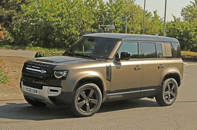 Land Rover Defender chuẩn bị được bổ sung động cơ V8 - Ôm mộng đấu Mercedes-AMG G63 - Ảnh 2.
