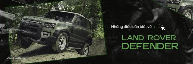 Đây là Land Rover Defender V8 chuẩn bị trình diện đấu vua địa hình Mercedes-AMG G63 - Ảnh 4.