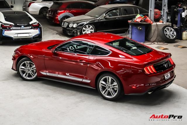 Bóc tách loạt trang bị độc đáo trên Ford Mustang 2020 vừa về nước, một chi tiết dễ gây nhầm lẫn - Ảnh 3.