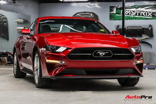 Bóc tách loạt trang bị độc đáo trên Ford Mustang 2020 vừa về nước, một chi tiết dễ gây nhầm lẫn - Ảnh 1.