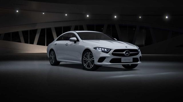 Mercedes-Benz suýt có CLC coupe 4 cửa