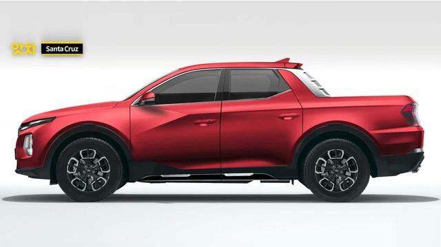 Khắc họa bán tải Hyundai Santa Cruz: Thiết kế thời trang với một chi tiết tạo cá tính mạnh mẽ