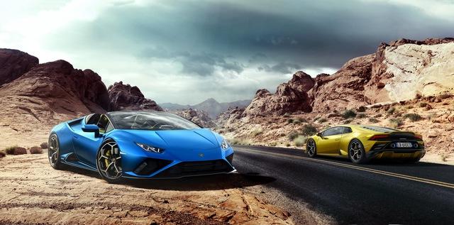 Ra mắt Lamborghini Huracan Evo RWD Spyder - Siêu xe mui trần được tinh chỉnh cho đại gia sử dụng hàng ngày - Ảnh 1.