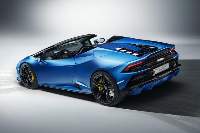 Ra mắt Lamborghini Huracan Evo RWD Spyder - Siêu xe mui trần được tinh chỉnh cho đại gia sử dụng hàng ngày - Ảnh 3.