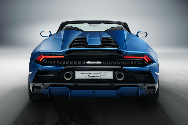 Ra mắt Lamborghini Huracan Evo RWD Spyder - Siêu xe mui trần được tinh chỉnh cho đại gia sử dụng hàng ngày - Ảnh 5.