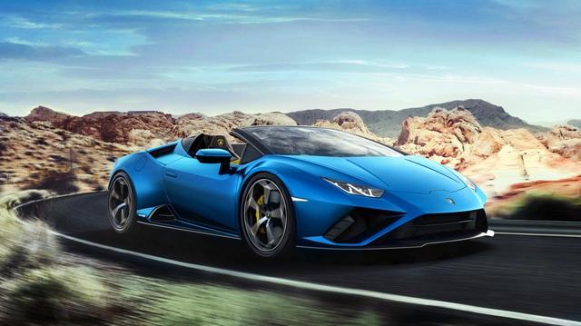 Ra mắt Lamborghini Huracan Evo RWD Spyder - Siêu xe mui trần được tinh chỉnh cho đại gia sử dụng hàng ngày