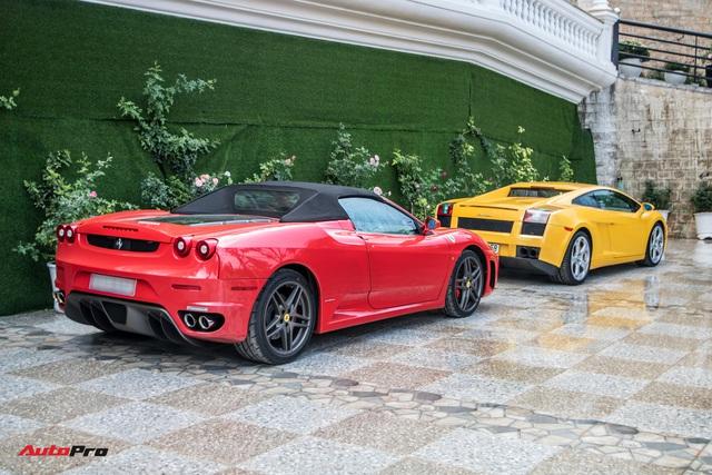 Dàn siêu xe trăm tỷ của giới đại gia Sài Gòn đổ về Đà Lạt: Cường Đô La xuất hiện cùng chiếc Lamborghini đầu tiên Việt Nam - Ảnh 4.