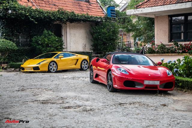 Dàn siêu xe trăm tỷ của giới đại gia Sài Gòn đổ về Đà Lạt: Cường Đô La xuất hiện cùng chiếc Lamborghini đầu tiên Việt Nam - Ảnh 3.