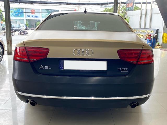 Qua thời đỉnh cao, Audi A8L bán lại chỉ 1,5 tỷ đồng dù treo biển thần tài nhỏ, thần tài lớn - Ảnh 2.