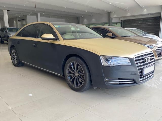 Qua thời đỉnh cao, Audi A8L bán lại chỉ 1,5 tỷ đồng dù treo biển thần tài nhỏ, thần tài lớn - Ảnh 5.