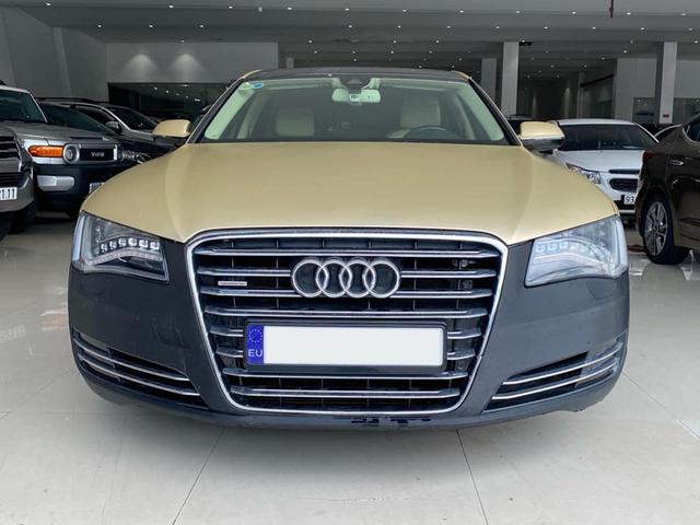 Qua thời đỉnh cao, Audi A8L bán lại chỉ 1,5 tỷ đồng dù treo biển thần tài nhỏ, thần tài lớn - Ảnh 1.