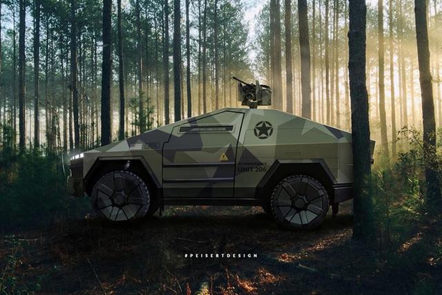 Cybertruck của Tesla có thể được chuyển đổi thành xe tăng bọc thép - Ảnh 1.