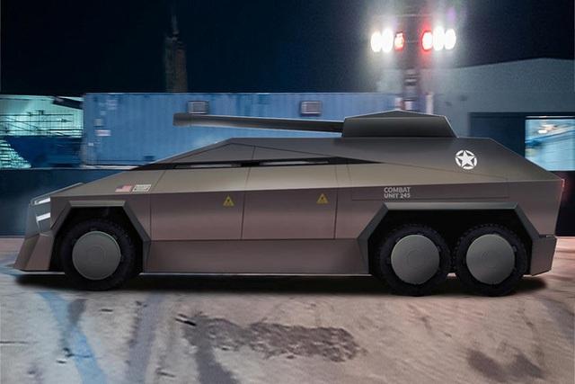 Cybertruck của Tesla có thể được chuyển đổi thành xe tăng bọc thép - Ảnh 7.
