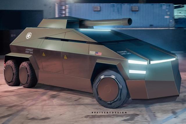 Cybertruck của Tesla có thể được chuyển đổi thành xe tăng bọc thép - Ảnh 8.