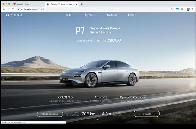 Hãng xe điện Trung Quốc bị bắt quả tang sao chép website của Tesla - Ảnh 2.