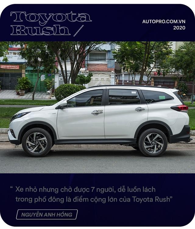 Admin hội Toyota Rush chọn xe không theo số đông: 'Có 1 tỷ và mua xe đầu đời, tôi không dám mạo hiểm' - Ảnh 2.