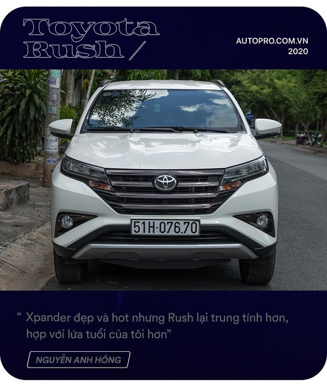 Admin hội Toyota Rush chọn xe không theo số đông: 'Có 1 tỷ và mua xe đầu đời, tôi không dám mạo hiểm' - Ảnh 3.