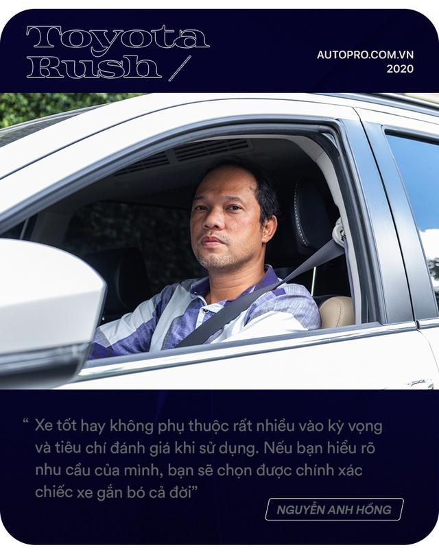 Admin hội Toyota Rush chọn xe không theo số đông: 'Có 1 tỷ và mua xe đầu đời, tôi không dám mạo hiểm' - Ảnh 5.