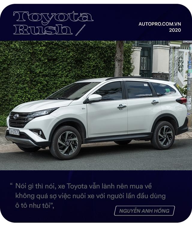 Admin hội Toyota Rush chọn xe không theo số đông: 'Có 1 tỷ và mua xe đầu đời, tôi không dám mạo hiểm' - Ảnh 7.