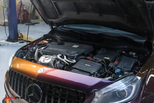 Thợ Việt lột xác Mercedes-AMG A 45 với gói độ tăng gần 120 mã lực, trần xe bầu trời sao như Rolls-Royce - Ảnh 3.
