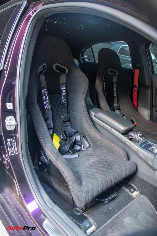 Thợ Việt lột xác Mercedes-AMG A 45 với gói độ tăng gần 120 mã lực, trần xe bầu trời sao như Rolls-Royce - Ảnh 11.