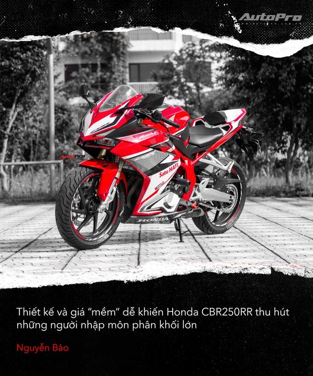 Người dùng đánh giá Honda CBR250RR: Làm thêm 4 triệu/tháng dư sức nuôi xe nhưng chưa xứng danh - Ảnh 2.