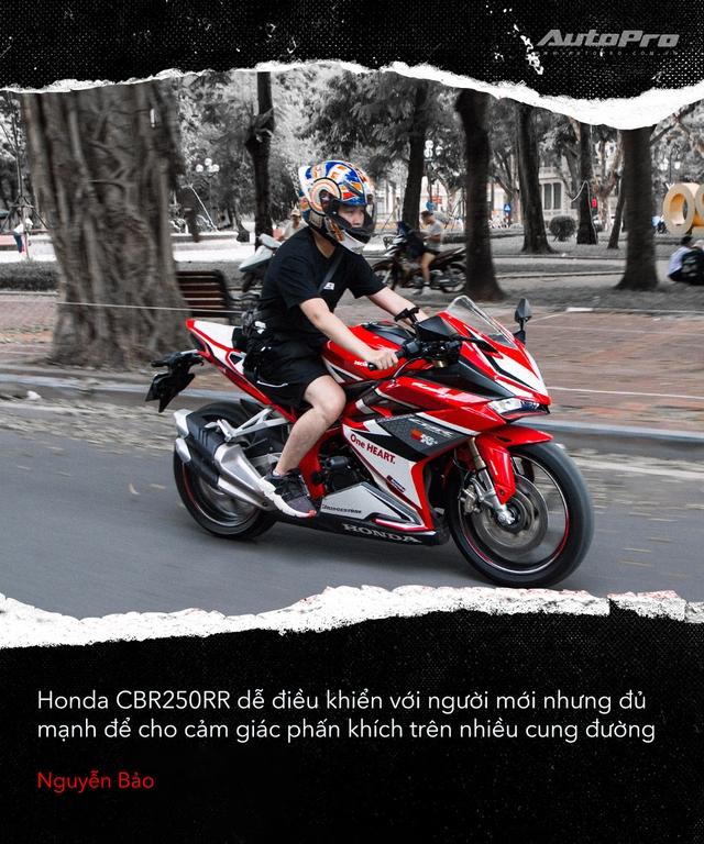 Người dùng đánh giá Honda CBR250RR: Làm thêm 4 triệu/tháng dư sức nuôi xe nhưng chưa xứng danh - Ảnh 4.