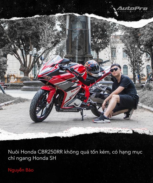 Người dùng đánh giá Honda CBR250RR: Làm thêm 4 triệu/tháng dư sức nuôi xe nhưng chưa xứng danh - Ảnh 5.