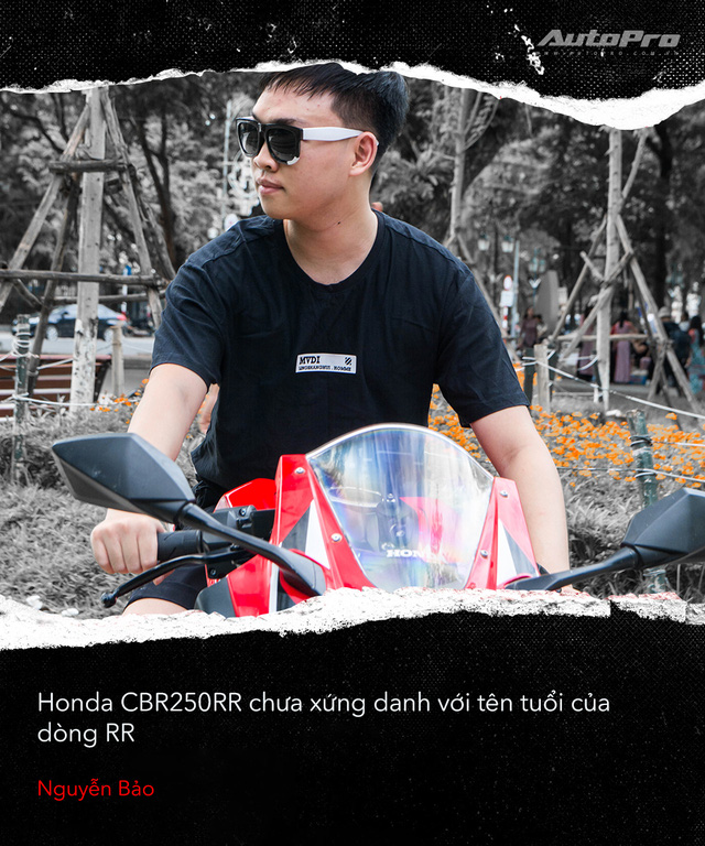 Người dùng đánh giá Honda CBR250RR: Làm thêm 4 triệu/tháng dư sức nuôi xe nhưng chưa xứng danh - Ảnh 6.