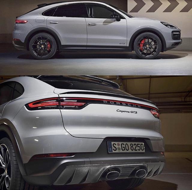 Ảnh chụp Porsche Cayenne Coupe GTS 2021 mới bị rò rỉ, ngày ra mắt chính thức không còn xa - Ảnh 3.