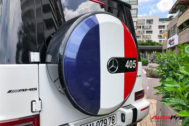 Cận cảnh Mercedes-AMG G63 Edition 1 của Minh nhựa với lớp áo mới phong cách Rolls-Royce - Ảnh 4.