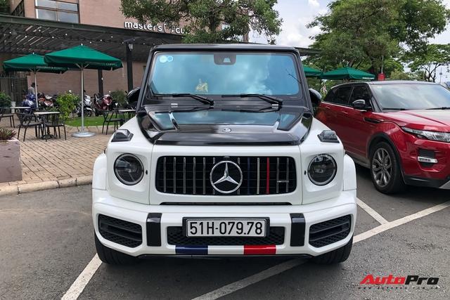 Cận cảnh Mercedes-AMG G63 Edition 1 của Minh nhựa với lớp áo mới phong cách Rolls-Royce - Ảnh 7.
