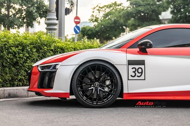 Audi R8 V10 Plus từng của vợ chồng Đông Nhi, Ông Cao Thắng lột xác độc đáo sau khi qua tay chủ nhân mới - Ảnh 8.
