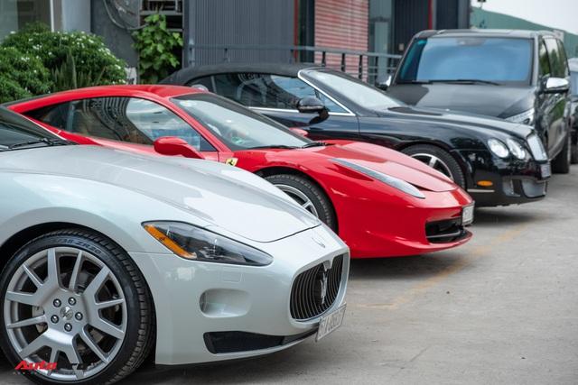 Khám phá bên trong showroom, xưởng dịch vụ siêu xe, xe siêu sang kín tiếng nhất Sài Gòn - Ảnh 3.