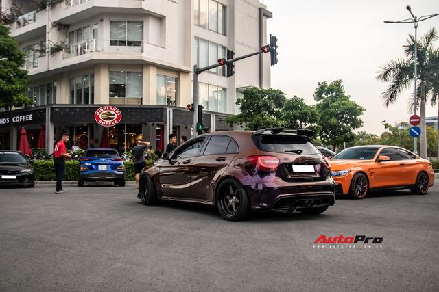 Dàn siêu xe, xe thể thao Nhật, Đức với màu sắc như tắc kè hoa hội ngộ cuối tuần tại Sài Gòn - Ảnh 2.