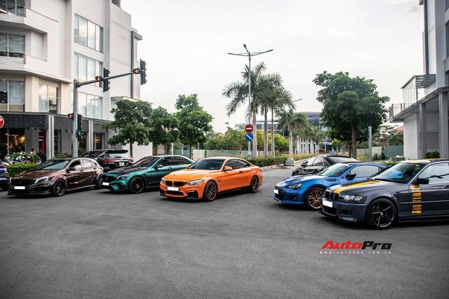 Dàn siêu xe, xe thể thao Nhật, Đức với màu sắc như tắc kè hoa hội ngộ cuối tuần tại Sài Gòn - Ảnh 3.