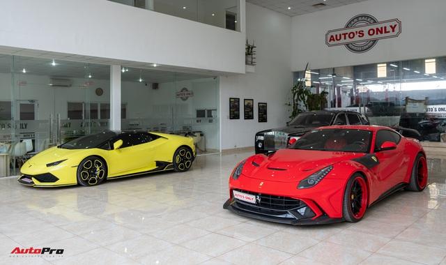 Khám phá bên trong showroom, xưởng dịch vụ siêu xe, xe siêu sang kín tiếng nhất Sài Gòn - Ảnh 7.