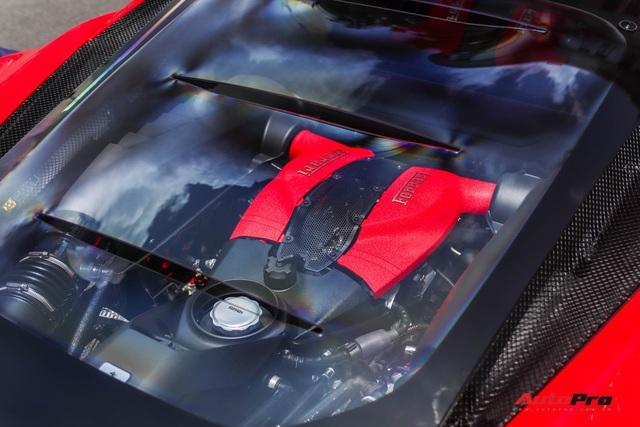Bóc tách Ferrari F8 Tributo của doanh nhân Nguyễn Quốc Cường: Riêng tiền option lên tới hơn 800 triệu đồng - Ảnh 8.
