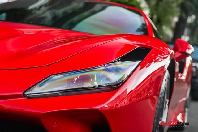 Bóc tách Ferrari F8 Tributo của doanh nhân Nguyễn Quốc Cường: Riêng tiền option lên tới hơn 800 triệu đồng - Ảnh 3.