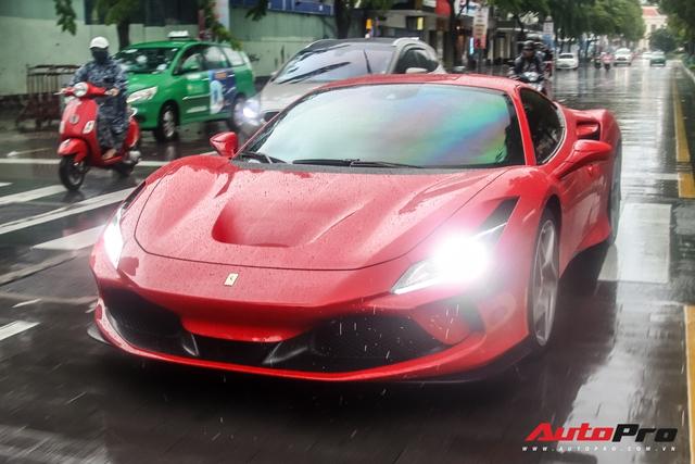 Ferrari F8 Tributo của Doanh nhân Nguyễn Quốc Cường lần đầu hội ngộ cùng dàn siêu xe của đại gia Sài Gòn - Ảnh 4.