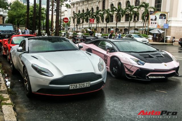 Ferrari F8 Tributo của Doanh nhân Nguyễn Quốc Cường lần đầu hội ngộ cùng dàn siêu xe của đại gia Sài Gòn - Ảnh 1.