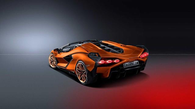 Siêu bò mạnh nhất lịch sử Lamborghini Sian FKP 37 mui trần chưa ra mắt nhưng đã cháy hàng - Ảnh 1.