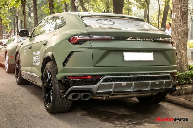 Lamborghini Urus của ông Đặng Lê Nguyên Vũ lần đầu lăn bánh trên đường phố - Ngôi sao của HTTTT 2020 - Ảnh 4.
