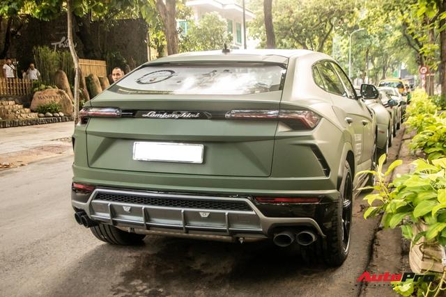 Lamborghini Urus của ông Đặng Lê Nguyên Vũ lần đầu lăn bánh trên đường phố - Ngôi sao của HTTTT 2020 - Ảnh 10.