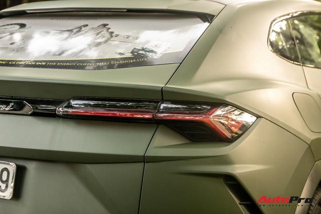 Lamborghini Urus của ông Đặng Lê Nguyên Vũ lần đầu lăn bánh trên đường phố - Ngôi sao của HTTTT 2020 - Ảnh 6.